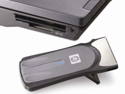 PCMCIA bluetooth mouse