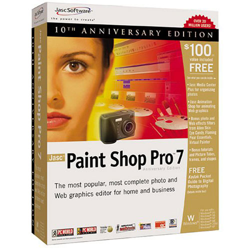 Paint Shop Pro box