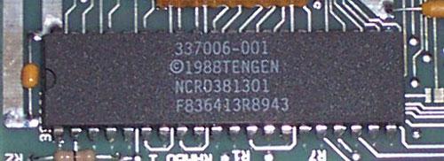 Tengen 10NES chip