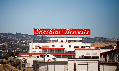 Sunshine Biscuits building