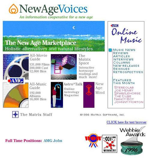 AllMusic Circa 1996