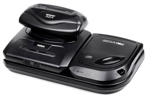 Sega Genesis with Sega CD and 32X