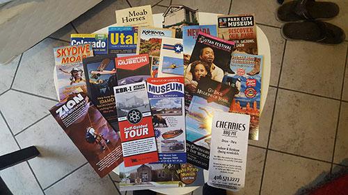 Regional airport brochures