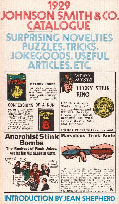 Johnson Smith catalogue