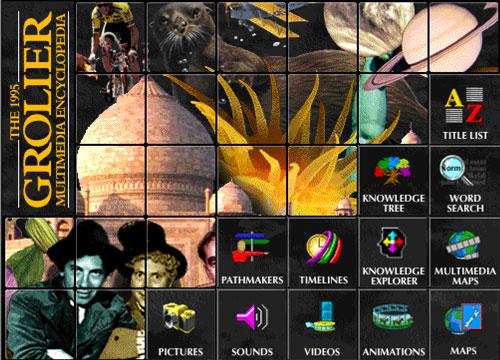 The 1995 Grolier Multimedia Encyclopedia