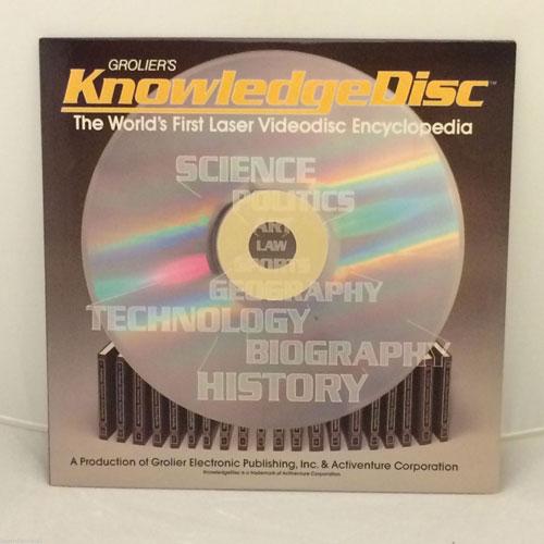 Groliers KnowledgeDisc