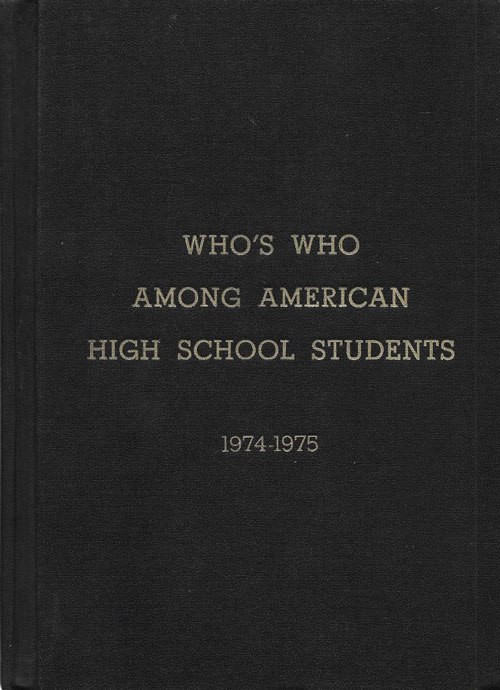 Who's Who Among American High School Students