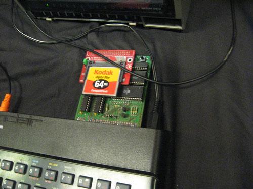 CompactFlash ZX Spectrum