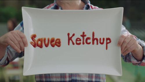 Heinz tomato sauce ad