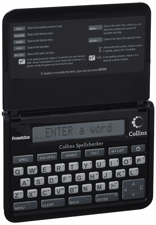 Franklin spell-checker