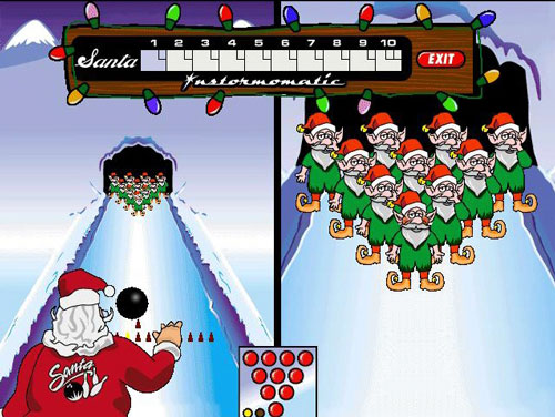 Elf Bowling screenshot