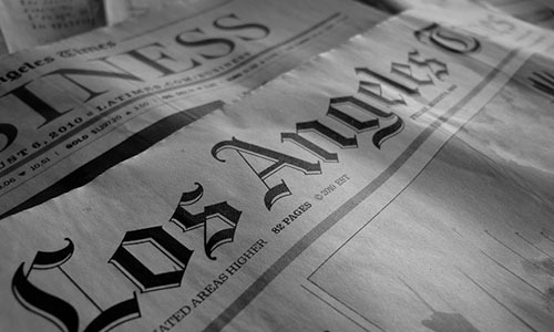 Shrinking newspaper