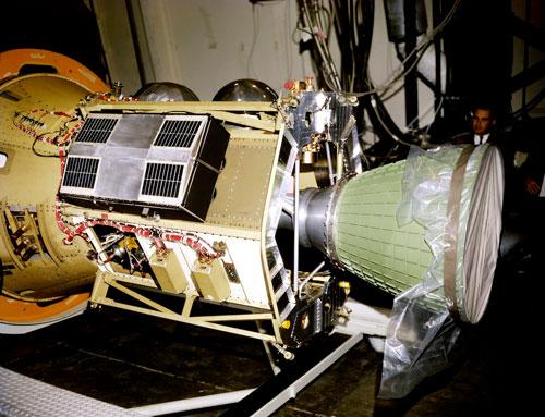 TIMATION I satellite