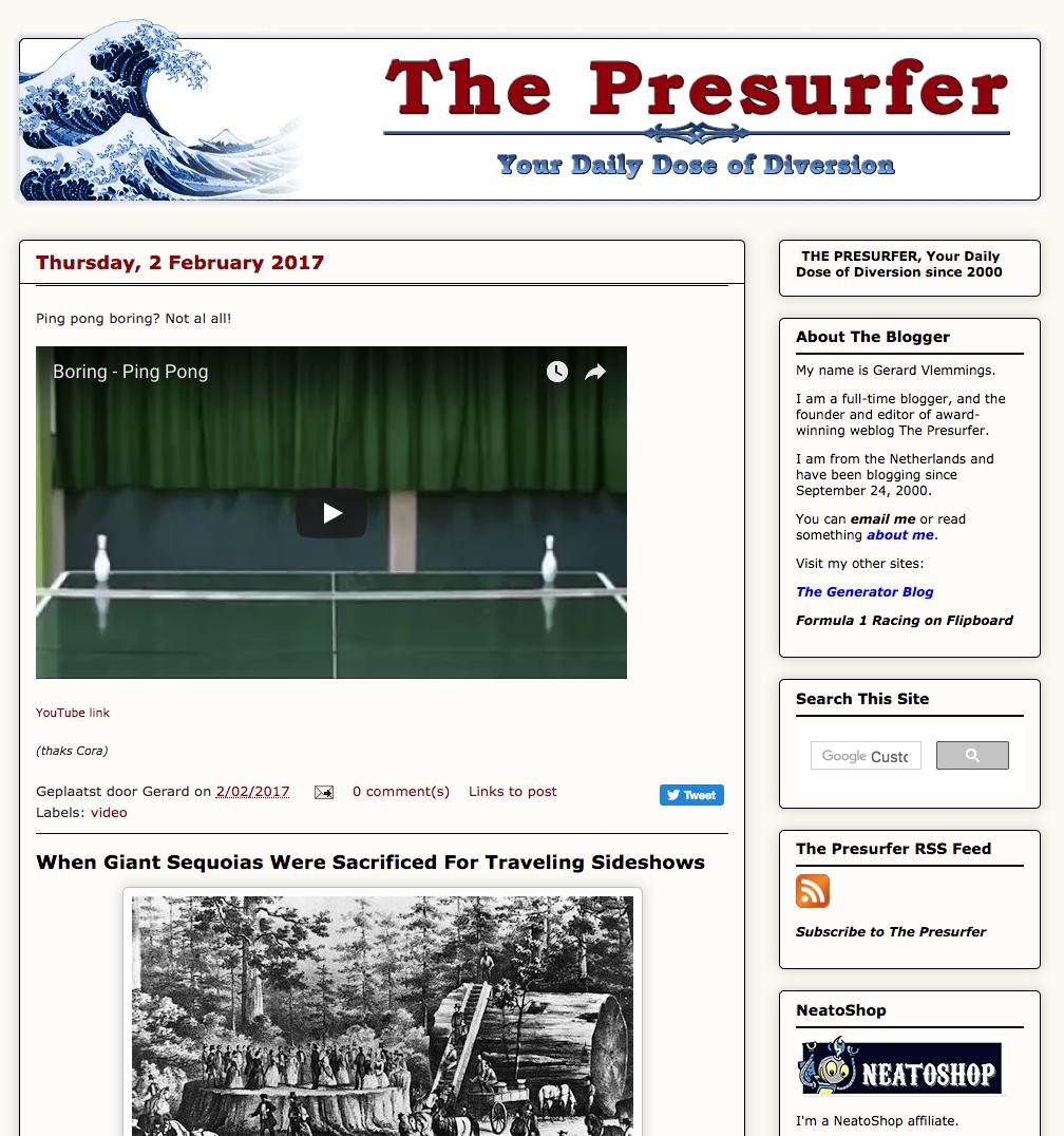 The Presurfer