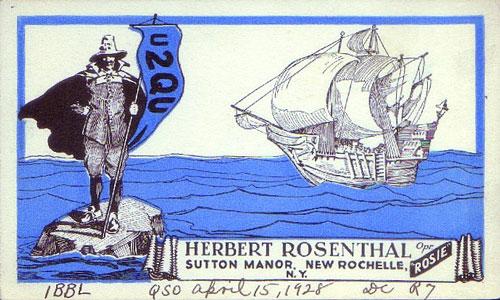 Vintage QSL Card