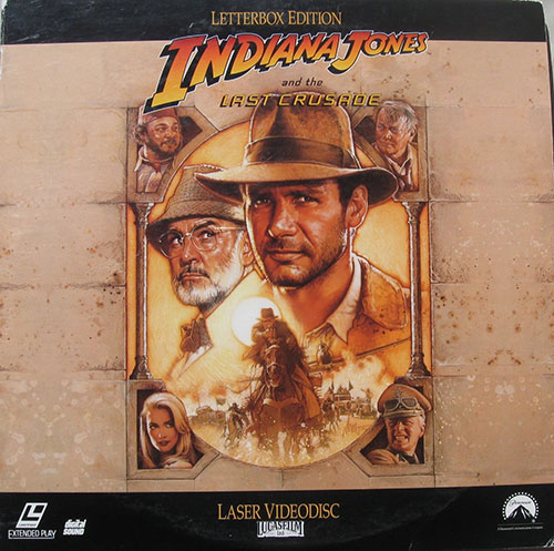Indiana Jones and the Last Crusade Letterbox Edition