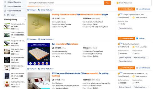 Alibaba hipster mattress