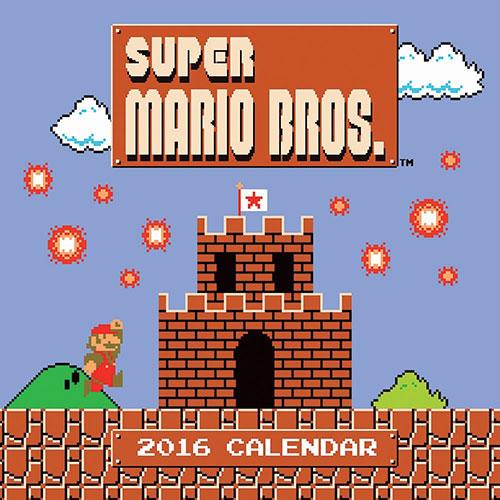 Super Mario Bros. Calendar