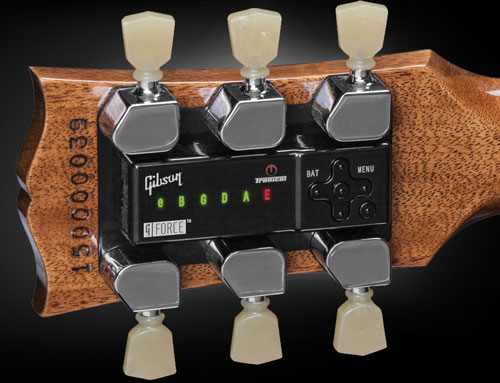 Gibson robot tuner