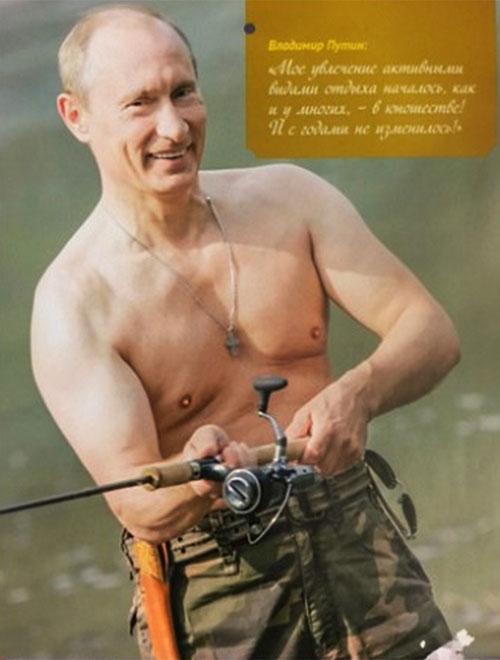 Putin wall calendar