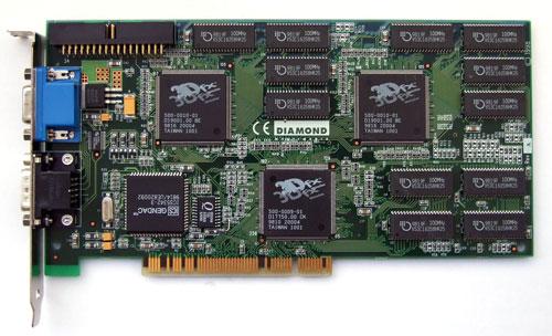 Voodoo2 graphics card