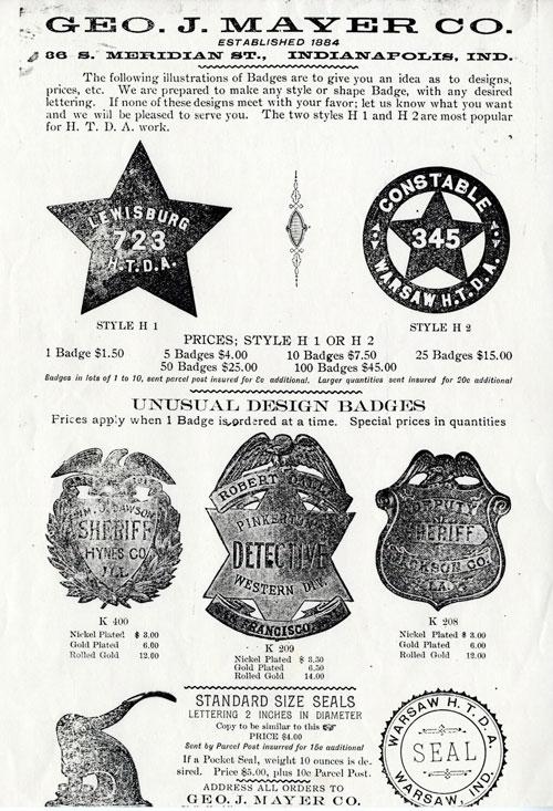 Horse Detective badges