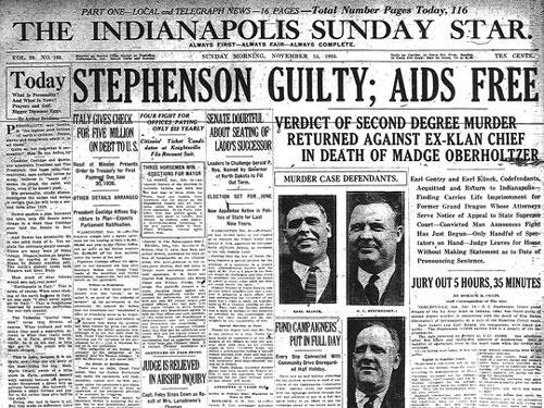 D. C. Stephenson guilty