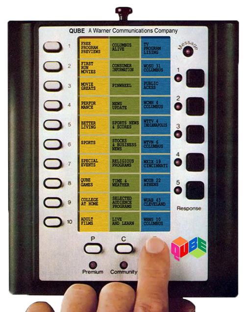 QUBE remote