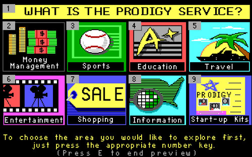 Prodigy screenshot