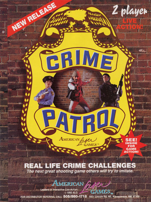 Crime Patrol LaserDisc Game