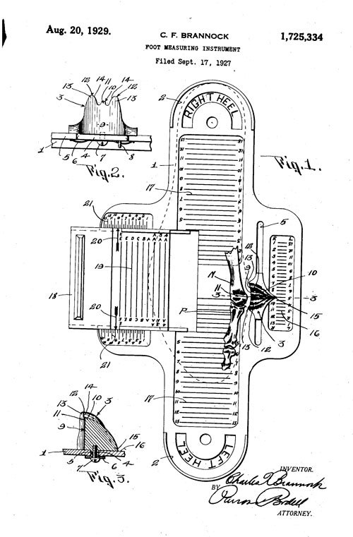 image regarding Printable Brannock Device named Brannock System Historical past: A Gadget That Ways Toes