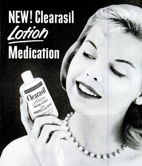 Acne Medication History: Why Clearasil Was Marketing Gold