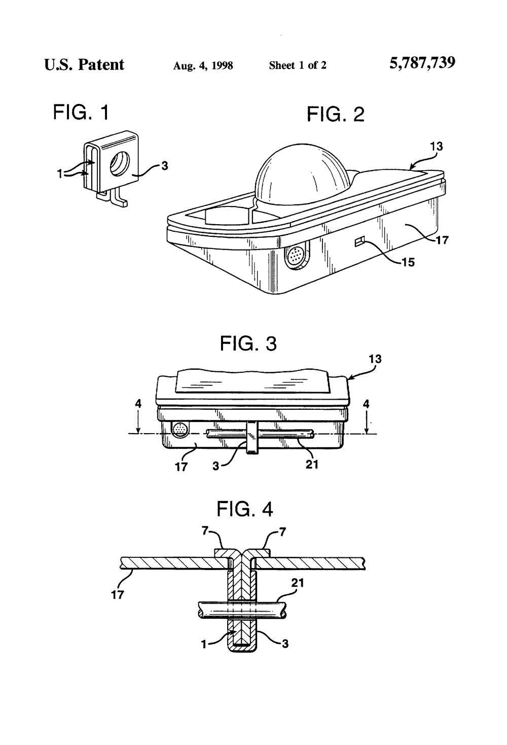 Kensington Slot Patent