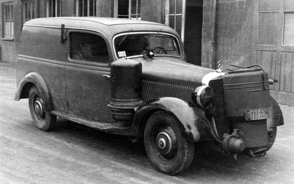 Mercedes Benz Charcoal Car