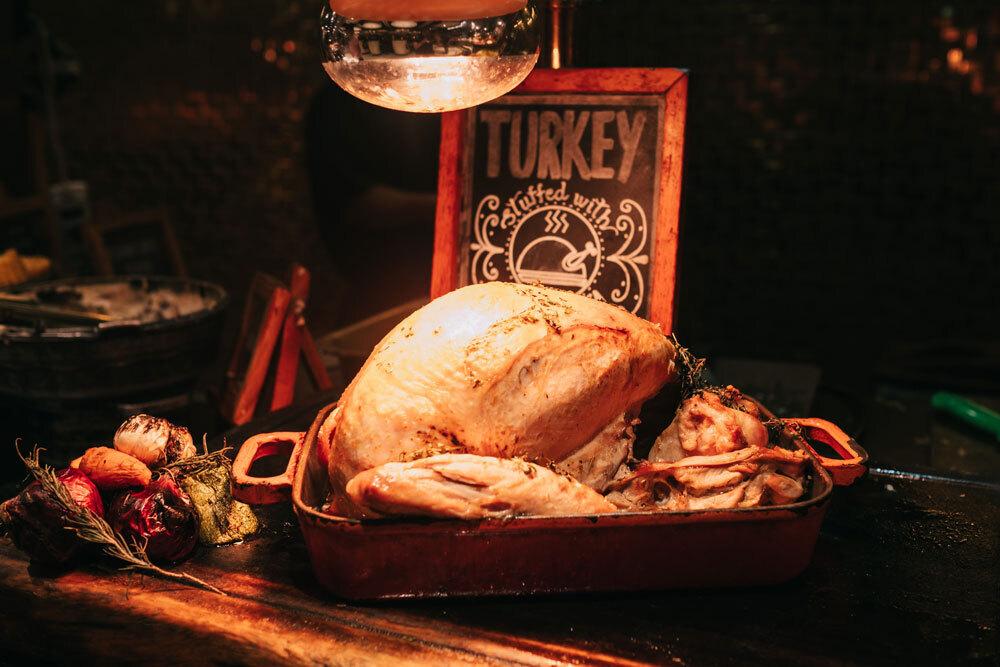 Turkey Thanksgiving Cooking